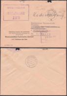 Krakow Am See Güstrow ZKD-Brief 1965 Germany East , GDR, WTZ Für Landtechnik Staatliches Komitee , Spatelstempel - DDR