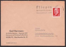"""Bow Tie Fliege """"Fliegen übertragen Krnkheiten"""" MWSt. 1962 Görlitz,  Insekten - DDR"""