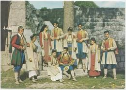 Montenegrin National Costumes, 1974 Used Postcard [21950] - Montenegro