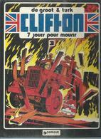 "CLIFTON  "" 7 JOURS POUR MOURIR  "" -  DE GROOT / TURK -  E.O.  1979  LOMBARD - Clifton"