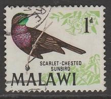 Malawi 1968 Birds 1 P Multicoloured SW 92 O Used - Malawi (1964-...)