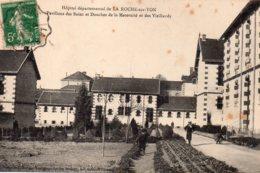 La Roche Sur Yon : Hôpital Départemental, Pavillon Des Bains De Douches De L Amaternité Et Des Vieillards - La Roche Sur Yon