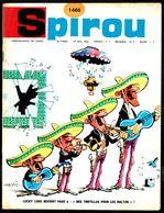 """SPIROU N° 1466 -  Année 1966 - Couverture """"LUCKY LUKE"""" De MORRIS. - Spirou Magazine"""