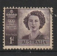 MiNr. 182  Australien (Commonwealth) / 1947, 20. Nov./1948, Aug. Hochzeit Von Prinzessin Elisabeth. StTdr.; Gez. K 14:15 - 1937-52 George VI
