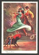 Zambra - Corrida - Flamenco - Illustration - Corrida