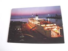 Sassari - Porto Torres Nave Di Linea All'ancora - Sassari