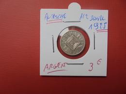 AUTRICHE 1/2 SCHILLING ARGENT 1925 - Austria