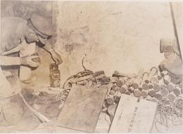GERMAN EQUIPMENT IN MONTECASSINO ITALY 1944  FOTO DE PRESSE Brian L Davis Archive - Guerra, Militari