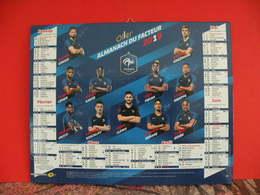 Calendrier L'Équipe De France De Football 2019 - France FFF - Neuf - - Grand Format : 2001-...