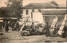 SAIGON - Un Coin Du Marché (Planté) - Viêt-Nam