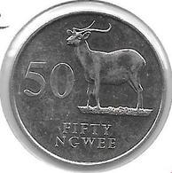 *zambia 50 Ngwee 1992 Km 30  Unc - Zambie