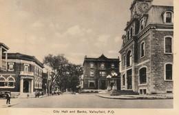Hotel De Ville Et Banques, Valleyfield, Quebec   City Hall And Banks - Quebec