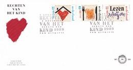 Nederland - FDC - Kinderzegels - De Rechten Van Het Kind - Onderdak/voedsel/onderwijs- NVPH E269 - Kindertijd & Jeugd
