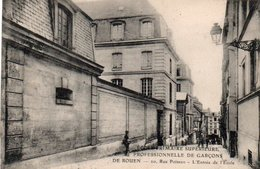 88Sv  76 Rouen 20 Rue Poisson Entrée De L'Ecole Primaire Sup. Professionnelle De Garçons - Rouen