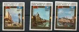 Rep. Cameroun  ND  ** PA N° 197 à 199  - Sauvegarde De  Venise - UNESCO - Cameroon (1960-...)