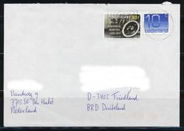 Niederlande 1976 / 1993, MiNr. 1460 + 1066 A Auf Brief Nach Deutschland; B-73 - Period 1980-... (Beatrix)