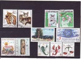 Tchechische Republik, 1999, Gebraucht-used-obliteré - Tschechische Republik