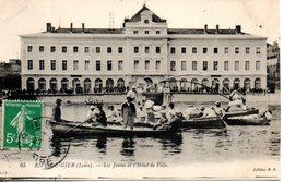 42. Rive De Gier. Les Joutes De L'hotel De Ville - Rive De Gier