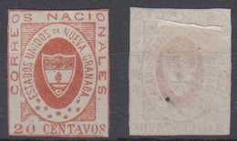 Colombia Mi# 12 (*) Mint 20c 1861 - Kolumbien