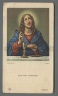 ES5182 SS. Sacramento COMUNIONE ECCE PANIS ALGELORUM CARLO DOLCI FOTO ALINARI  RICORDINO S. MARCO IN LAMIS Santino - Religione & Esoterismo