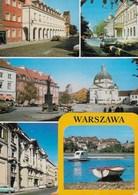 POLONIA - VARSAVIA - VEDUTE DELLA CITTA' - VIAGGIATA 1991 - Polonia