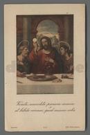 ES5183 SS. Sacramento COMUNIONE ULTIMA CENA YUANES EDIZ. ASTRO ROMA Santino - Religione & Esoterismo