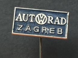 Z 209 - AUTORAD ZAGREB CROATIA, VOLKSWAGEN VW, AUTO, CAR, - Volkswagen