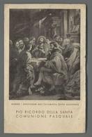 ES5185 SS. Sacramento PIO RICORDO DELLA SANTA COMUNIONE PASQUALE RUBENS FOTO ANDERSON STEM Santino - Religione & Esoterismo