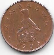 *zimbabwe 1 Cent 1995  Km 1 A - Zimbabwe