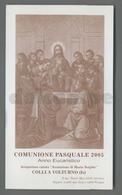 ES5187 SS. Sacramento COMUNIONE PASQUALE COLLI A VOLTURNO Santino - Religione & Esoterismo