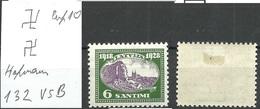 LETTLAND Latvia 1928 Michel 132 Inverted Vertical Watermark Perf 10 * - Lettland