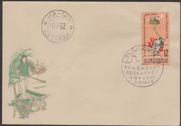 N.VIETNAM   FDC  1962  ACCORDS DE GENEVE   Réf  62 - Viêt-Nam