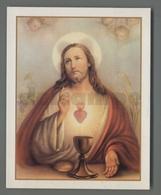 ES5189 SS. Sacramento COMUNIONE SACRO CUORE PREGHIERA DELLA MISSIONE Santino - Religione & Esoterismo