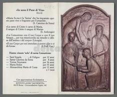 ES5190 SS. Sacramento LA SANTA COMUNIONE APRIBILE ISTITUTO GESU SACERDOTE Santino - Religione & Esoterismo