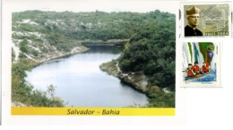 BRASIL  BRASILE  SALVADOR BAHIA  ITAPUÃ  Lagoa De Catù  NICE STAMPS - Salvador De Bahia