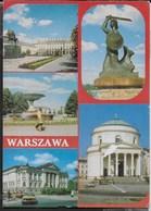 POLONIA - VARSAVIA - VEDUTE DELLA CITTA' - VIAGGIATA 1992 - Polonia