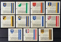 LIECHTENSTEIN. 1995. SÉRIE D'ARMES. NEUF - Liechtenstein