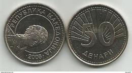 Macedonia 50 Denari 2008. KM#32  High Grade From Bank Bag - Macédoine