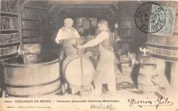 33 - GIRONDE / Pauillac - 332379 - Vendanges - Premiers écoulages - Beau Cliché Animé - Défaut - Pauillac
