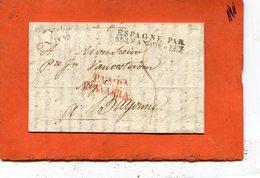 ESPAGNE Lettre De Pampelune - Espagne