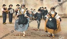 CPSM - [12] Aveyron > Rodez - Le Rouergue - L'Escloupeto De Rodez - Le Pas De Croix (Bourrée) - Rodez