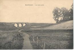 ( GILLY ) SOLEILMONT : Les Trois Ponts - RARE VARIANTE - Courrier De 1923 - Autres