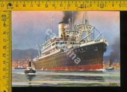 Marina Navigazione Nave Lloyd Triestino Rosandra - Barche