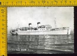 Marina Navigazione Nave Conte Grande - Barche