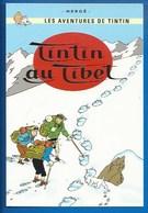 CP TINTIN - HERGÉ -  MOULINSART SUNDANCER 088 - TINTIN AU TIBET - Comics