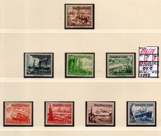 EUROPE:#GERMANY#THIRD REICH#TOPICS#CHARITY#SHIPS#SET#MNH**/ MH (GE3-260-1) (25) - Germany
