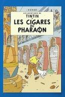 CP TINTIN - HERGÉ -  MOULINSART SUNDANCER 072 - LES CIGARES DU PHARAON - Comics