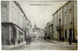 11 - Castelnaudary - Rue Nationale - Castelnaudary