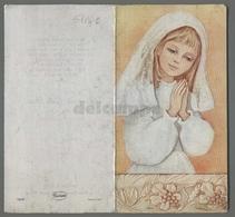 ES5194c SS. Sacramento COMUNIONE ALLUMINIO APRIBILE S. MARCO EVANGELISTA APRIBILE Santino - Religione & Esoterismo
