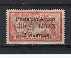 GRAND LIBAN - Y&T Poste Aérienne N° 1* - Type Merson - Great Lebanon (1924-1945)